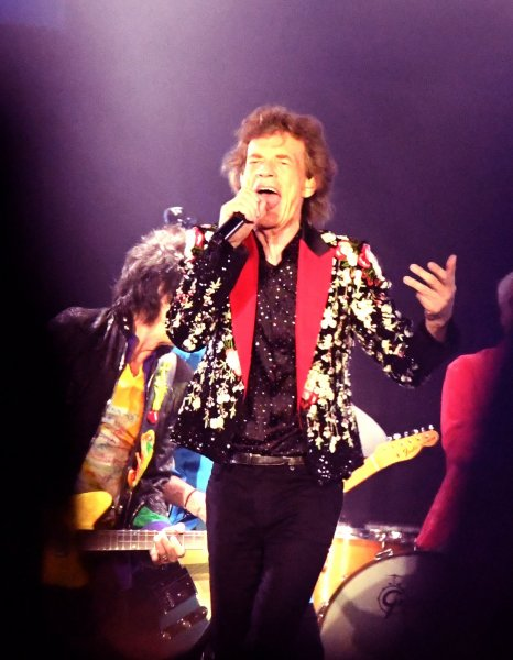 The Rolling Stones brought its 2019 No Filter tour perform to Miami Gardens, Florida on Friday. Photo By Gary I Rothstein/UPI
