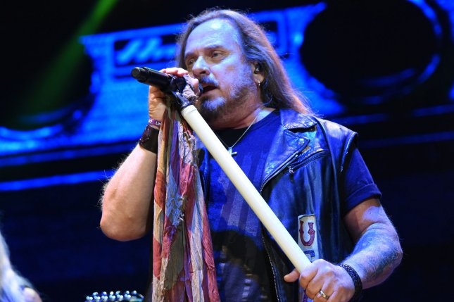 Johnny Van Zant of Lynyrd Skynyrd. The band will be performing in 2020 as part of their ongoing farewell tour. File Photo by Ian Halperin/UPI