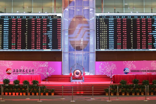 Foreign investors have contributed to a rally in China's stock markets as the Chinese currency appreciated amid a post-pandemic recovery. File Photo by Stephen Shaver/UPI