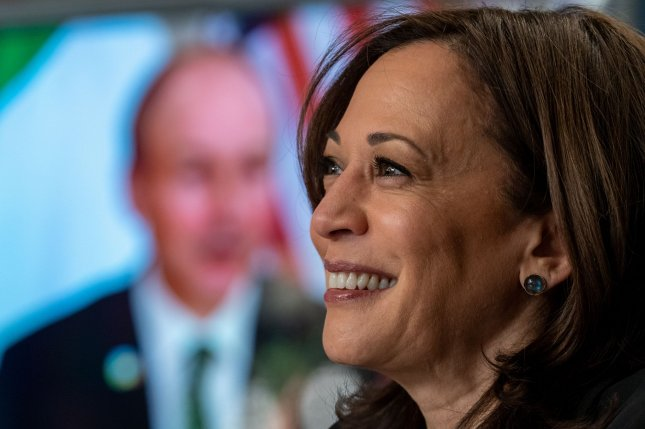 Vice President Kamala Harris, actress Andra Day and other women will appear during Women Making History, a new special airing March 30 on Lifetime. File Photo by Ken Cedeno/UPI