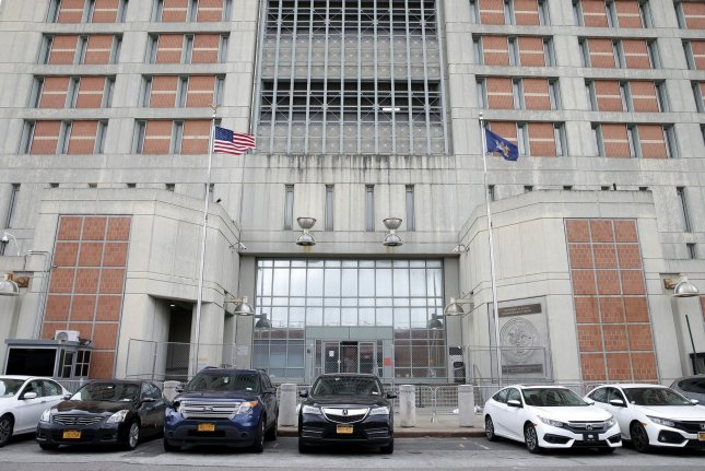 Ghislaine Maxwell, who's being held atthe Metropolitan Detention Center in Brooklyn, pleaded not guilty to two additional charges of sex trafficking Friday. File Photo by John Angelillo/UPI
