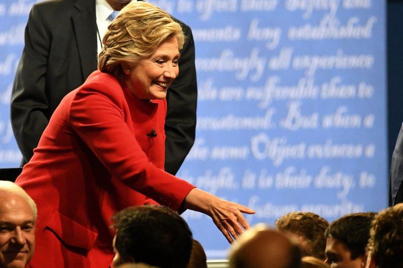 Hillary Clinton's name misspelled on debate ticket