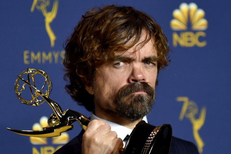 Peter Dinklage attends the Primetime Emmy Awards on September 17. File Photo by Christine Chew/UPI