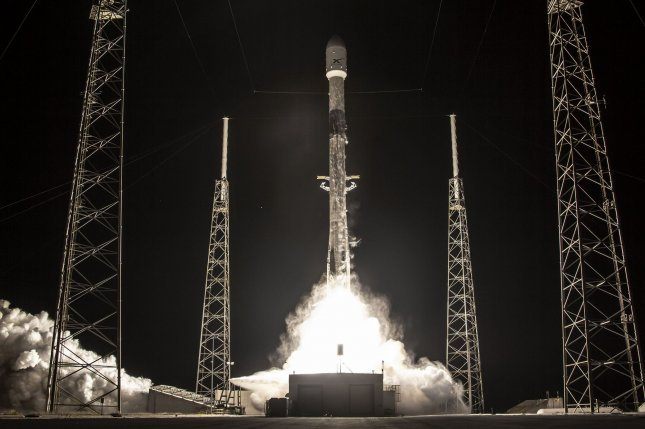 On January 6, SpaceX launched its third payload of 60 Starlink satellites from Cape Canaveral Air Force Station, Fla. File Photo courtesy of SpaceX