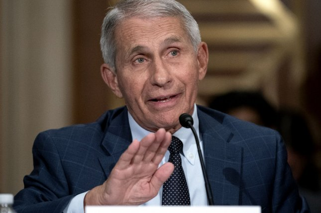 Dr. Anthony Fauci warned that U.S. COVID-19 cases are going in the wrong direction as numbers have continued to rise and vaccination rates have stalled. Pool Photo by Stefani Reynolds/UPI