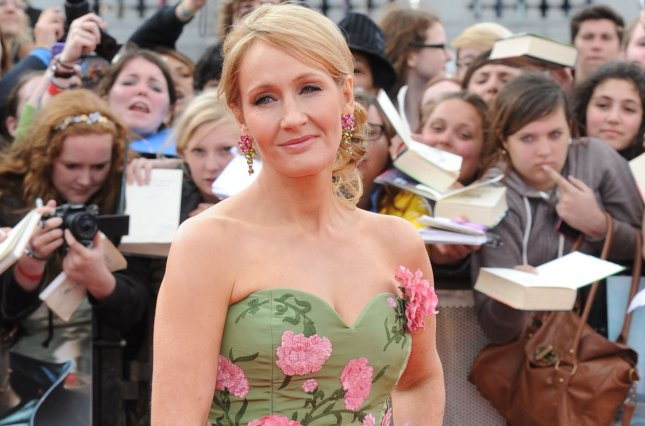 British author JK Rowling attends the World premiere of Harry Potter And The Deathly Hallows Part 2 in London on July 7, 2011. UPI/Rune Hellestad