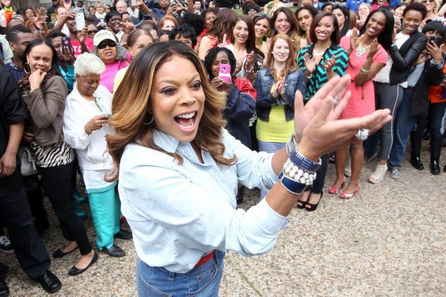 Wendy Williams films promotional spots for 'The Wendy Williams Show' on May 16, 2014. The television personality detailed her weight loss on Monday's after show. File Photo by Bill Greenblatt/UPI