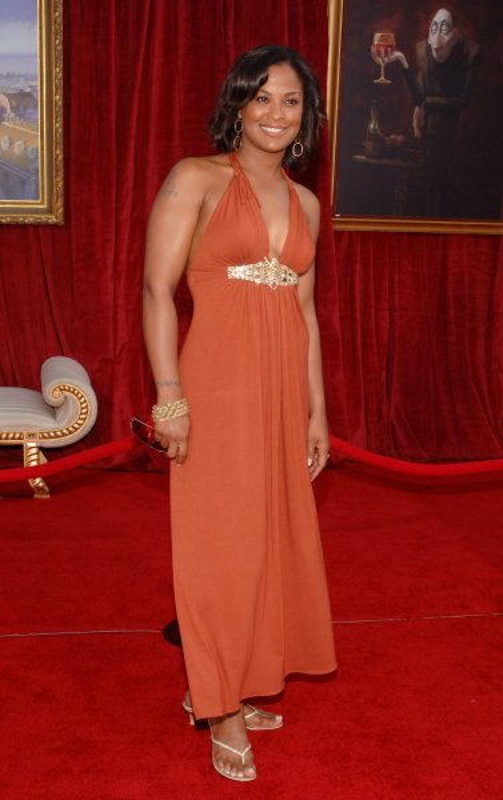 Boxer Laila Ali at Grauman's Chinese Theatre, Los Angeles on June 22, 2007. (UPI Photo/Jim Ruymen)