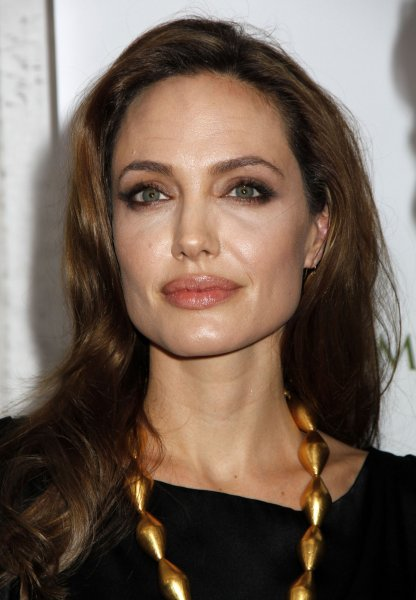 Angelina Jolie arrives for the premiere of In The Land of Blood and Honey at the School of Visual Arts Theater in New York on December 5, 2011. UPI /Laura Cavanaugh