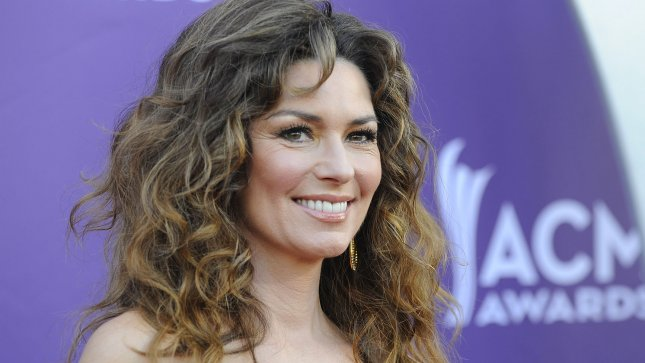 Singer Shania Twain arrives at the 48th annual Academy of Country Music Awards at the MGM Hotel in Las Vegas, Nevada on April 7, 2013. (File/UPI/David Becker)