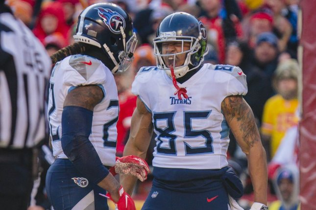 The Tennessee Titans will not play in Week 4 after some players and staff members tested positive for COVID-19. File Photo by Kyle Rivas/UPI