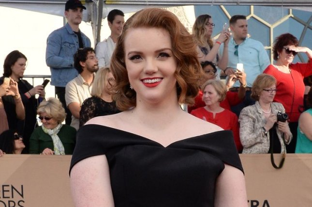 Shannon Purser attends the Screen Actors Guild Awards on January 29. The actress went public with her sexuality Tuesday. File Photo by Jim Ruymen/UPI