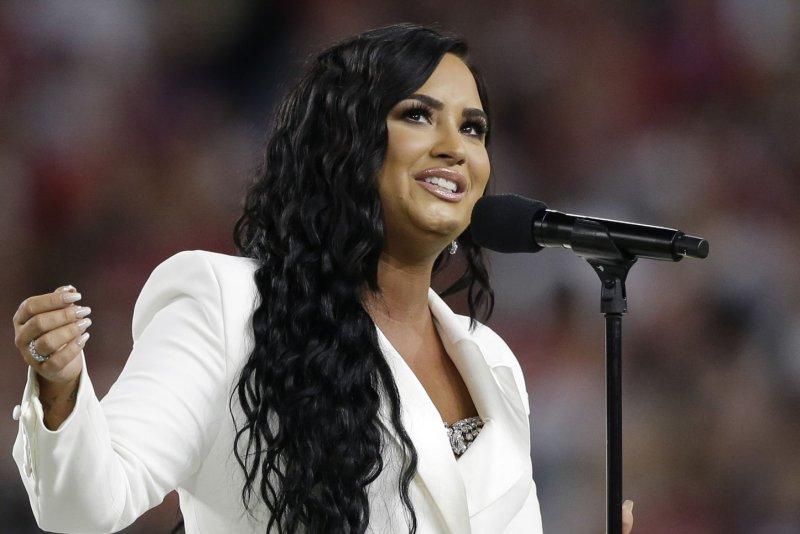 Demi Lovato is hosting the E! People's Choice Awards on Sunday. File Photo by John Angelillo/UPI
