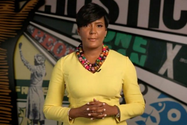 Atlanta Mayor Keisha Lance Bottoms is one of several city leaders named in a civil lawsuit filed Monday by the family of 8-year-old Secoriea Turner, who was shot dead last summer during protests that erupted in the city. File photo by UPI