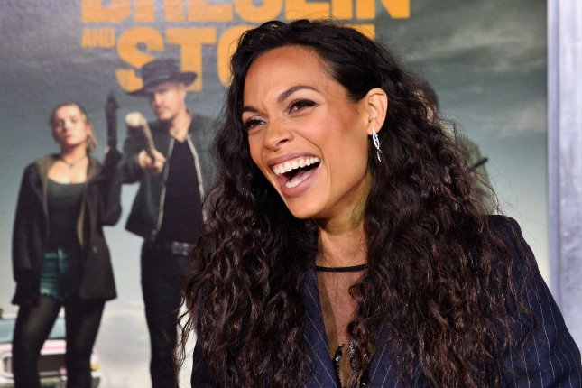 Zombieland: Double Tap star Rosario Dawson can now also be heard voicing the titular superheroine in the animated movie, Wonder Woman: Bloodlines. Photo by Jim Ruymen/UPI