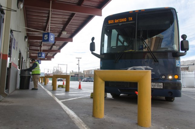 Greyhound said in a statement Friday it will no longer allow Border Patrol to conduct immigration checks on its buses without a warrant. File Photo by Natalie Krebs/UPI