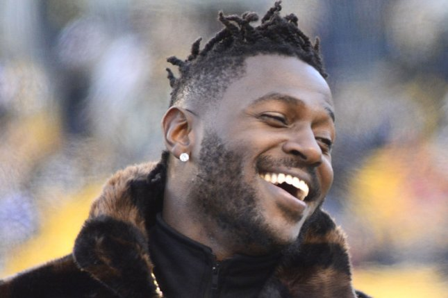 Tampa Bay Buccaneers coach Bruce Arians said Antonio Brown (pictured) should be ready to go next week after the veteran wide receiver serves his suspension from the NFL and clears the league's COVID-19 protocol.File Photo by Archie Carpenter/UPI