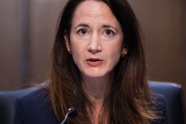 Director of National Intelligence Avril Haines told the Senate Select Committee on Intelligence that China is working to undo global norms in its favor. Pool Photo by Saul Loeb/UPI