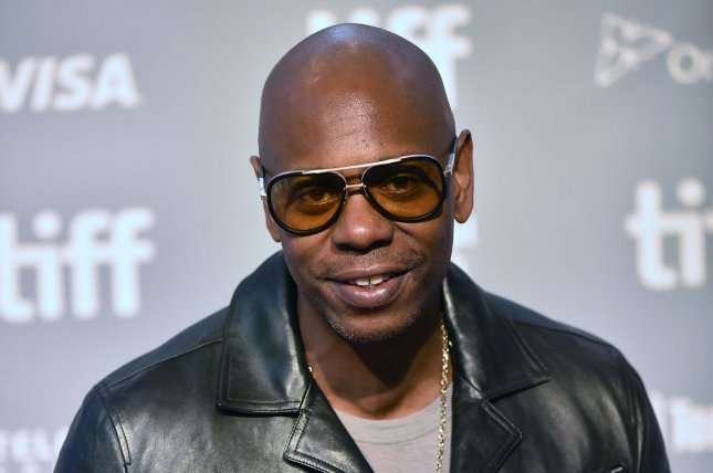 An untitled documentary produced by Dave Chappelle will have its world premiere at the Tribeca Film Festival in June. File Photo by Christine Chew/UPI