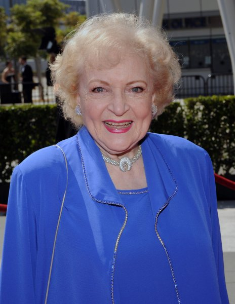 Actress Betty White arrives at the Creative Arts Emmy Awards in Los Angeles on September 12, 2009. UPI/Jim Ruymen