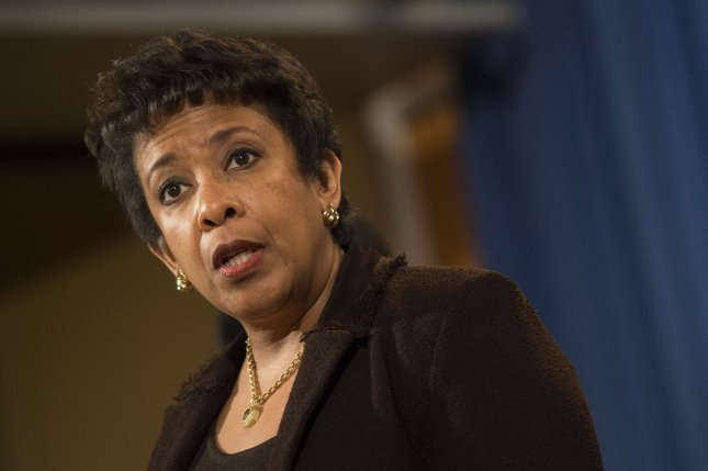 Attorney General Loretta Lynch is expected to announce Thursday an indictment charging several people associated with the Iranian government in dozens of 2012 and 2013 computer intrusions on banks and a small upstate New York dam. File Photo by Kevin Dietsch/UPI