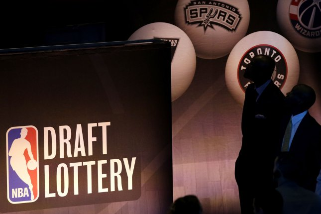 Because of the deals to move Kevin Garnett and Paul Pierce in 2013, the Boston Celtics could have an advantage in the NBA Draft Lottery Tuesday. File photo by John Angelillo/UPI