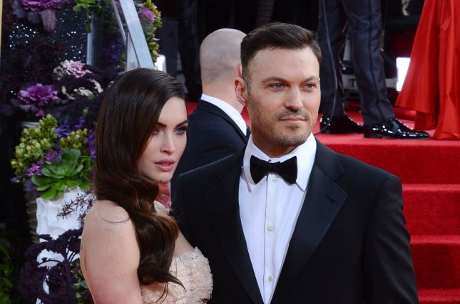 Actress Megan Fox shared a cute photo this weekend of Journey, the youngest of her three sons with her husband, actor Brian Austin Green. File Photo by Jim Ruymen/UPI