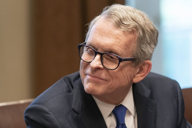 DeWine and his wife will have another PCR test on Saturday, out of an abundance of caution, his office said. File Photo by Chris Kleponis/UPI
