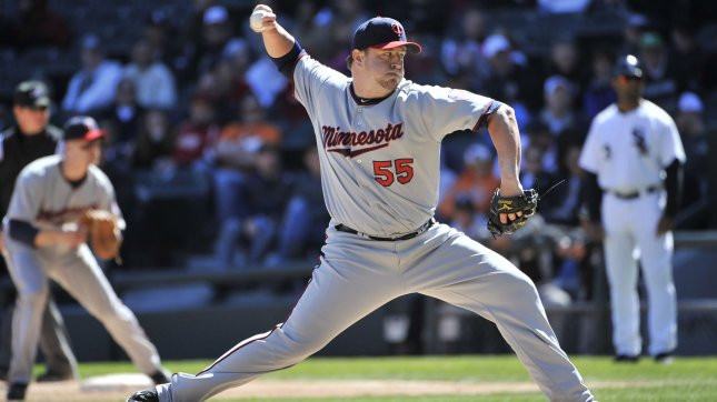 Minnesota Twins closer Matt Capps went on the 15-day disabled list Monday with right shoulder inflammation, the struggling American League club said. 2011 file photo. UPI/Brian Kersey
