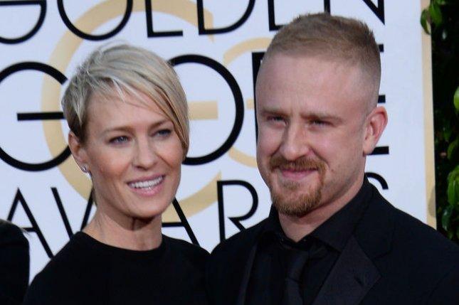 Robin Wright (L) and Ben Foster have reportedly resumed their engagement. Photo by Jim Ruymen/UPI