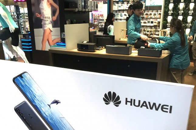 Australia and New Zealand have banned use of Huawei equipment and the Pentagon last year barred Huawei phones on military installations. File Photo by Stephen Shaver/UPI
