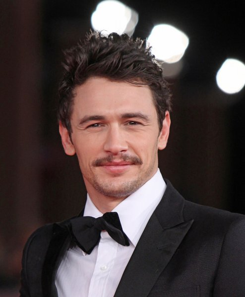 James Franco arrives on the red carpet before the screening of a digitally restored version of the 1960 classic film La Dolce Vita during the 5th Rome International Film Festival in Rome on October 30, 2010. UPI/David Silpa