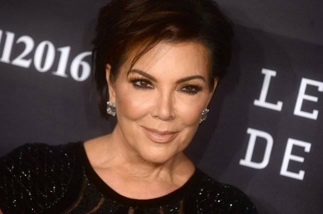 Kris Jenner at the 2016 Gabrielle's Angel Foundation Angel Ball on Monday. File Photo by Dennis Van Tine/UPI