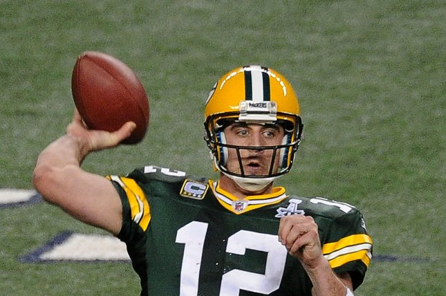 The Green Bay Packers and quarterback Aaron Rodgers enter the playoffs as one of the hottest teams and could repeat what they did in the 2010-2011 and use that momentum to get to the Super Bowl. File photo by Jon Soohoo/UPI