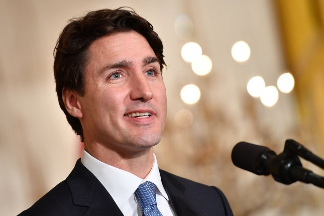 Canadian Prime Minister Justin Trudeau says the best economic days for his country are still ahead. Photo by Kevin Dietsch/UPI