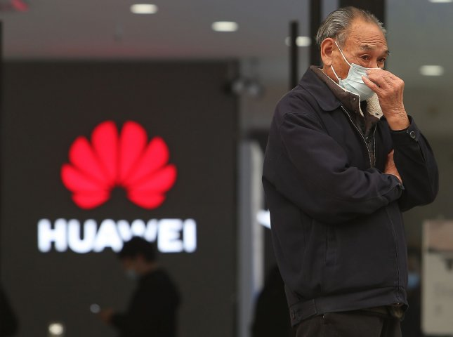 Huawei is one of the more than 30 companies that the United States has accused of being controlled by the Chinese military. Photo by Stephen Shaver/UPI