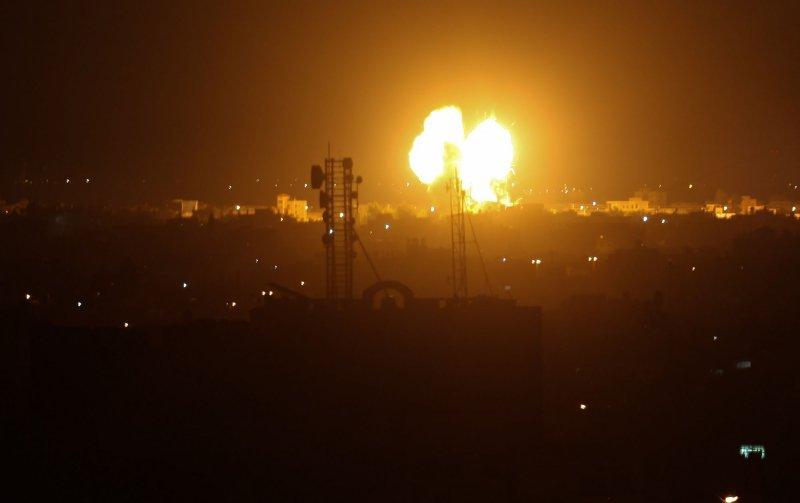 Israel strikes Hamas targets in Gaza amid 3rd night of fighting