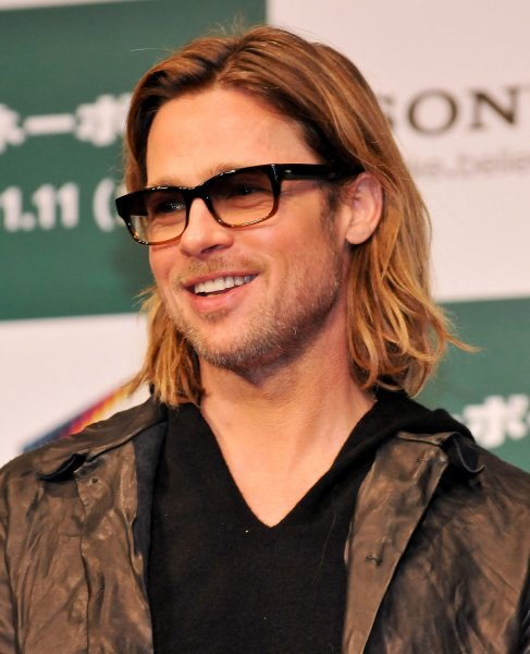 Actor Brad Pitt nominated in for Lead actor for his performance in Moneyball. UPI/Keizo Mori