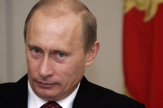 Russian President Vladimir Putin has signed a ban on food imports from the United States and European Union in response to economic sanctions. (UPI Photo/Anatoli Zhdanov)