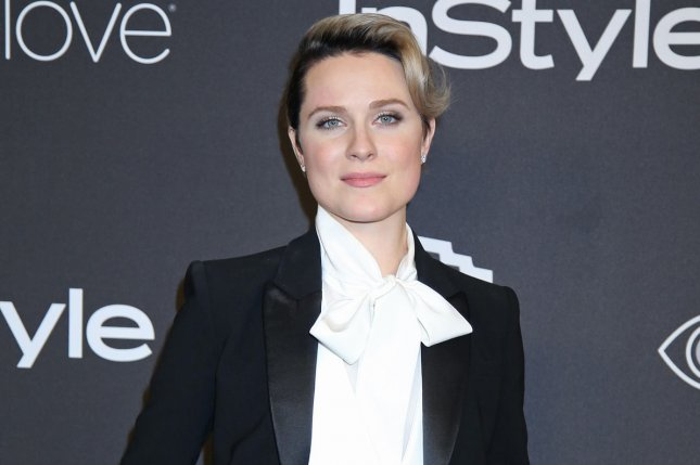 Evan Rachel Wood attending the 18th annual InStyle and Warner Bros. Golden Globe after-party on January 8. Wood recently got engaged to fellow bandmate Zach Villa. Photo by David Silpa/UPI