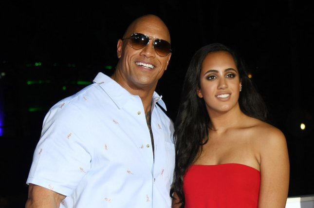 Dwayne Johnson S Daughter Simone Named Golden Globe