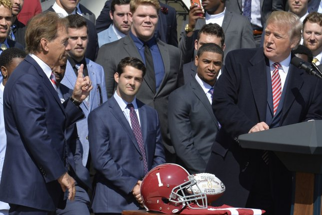 Alabama football players view White House visit as 'a great honor'