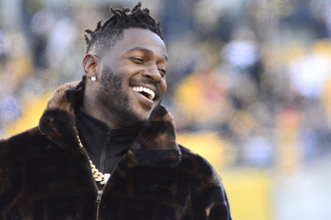 All-Pro wide receiver Antonio Brown described his release from the Oakland Raiders by sharing a private conversation with coach Jon Gruden on social media. File Photo by Archie Carpenter/UPI