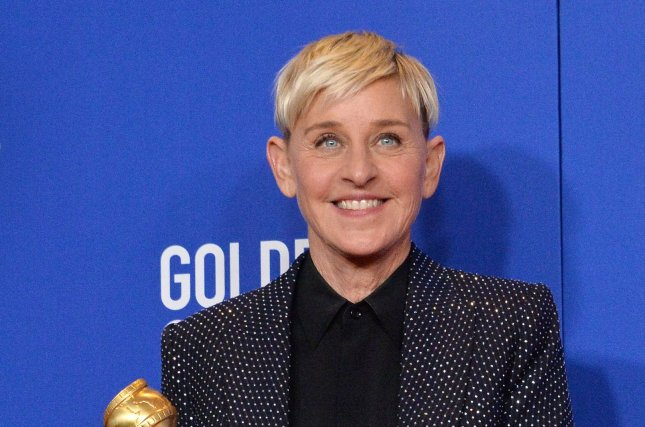 Ellen DeGeneres has apologized after allegations were made that there is a toxic work culture at her talk show. File Photo by Jim Ruymen/UPI