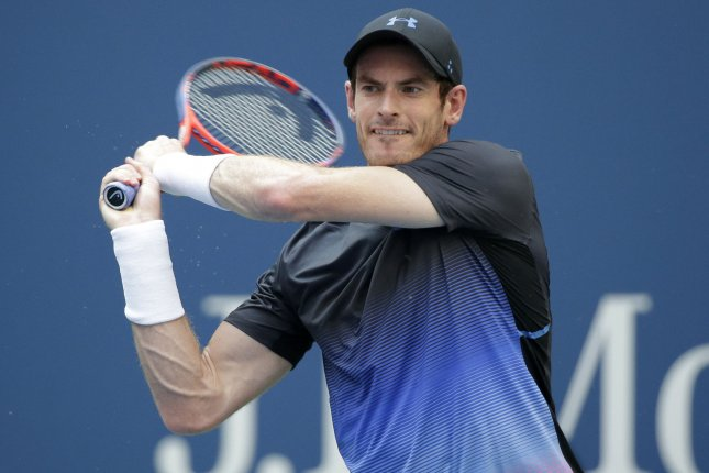 Andy Murray hoped to compete in the Australian Open earlier this year, but he was prevented from playing due to a positive COVID-19 test. File Photo by John Angelillo/UPI