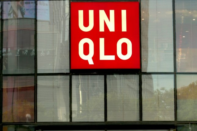 """Japanese retailer Uniqlo said it will """"cooperate fully"""" with a French investigation into its supply chain in Xinjiang, China. File Photo by Stephen Shaver/UPI"""