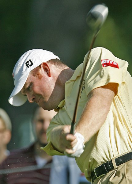 Troy Matteson, shown in a 2007 file photo, owns the lead after Thursday's first round at the CIMB Classic, a PGA Tour stop in Malaysia. (UPI Photo/Gary C. Caskey)