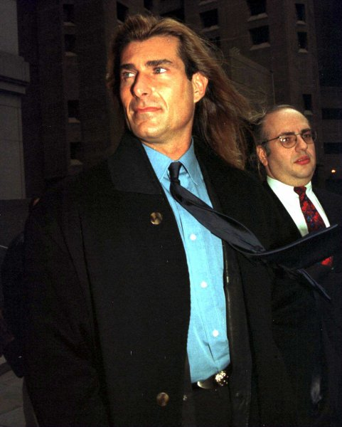 File phonto of Actor/model Fabio Lanzoni dated January 27th 1998. (UP/Ezio Petersen)