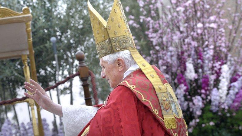 Pope Benedict XVI recognized Odoardo Focherini as a martyr. Focherini saved 100 Jews from the Holocaust. UPI/Stefano Spaziani
