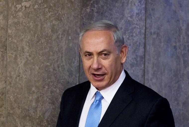 Israeli Prime Minister Benjamin Netanyahu, pictured on March 12, 2014. (UPI/Ronen Zvulun/Pool)